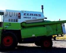 Cosechadora Claas Mega 370 - año 2005
