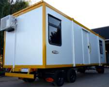 Casillas Trailer Vial Sanitario Movil Petrolero Company MAN