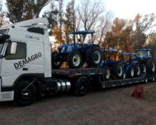 Servicio de Transporte Carretones Agrícolas