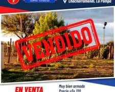 En Venta 2.500 Has Chacharramendi la Pampa.-