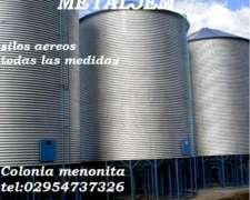 Silos Aereos De 100 Toneladas,directo De Fabrica.oferta