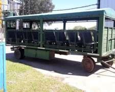 Unico Para Pasajeros, O Food Truck Con Jaula Antiv 32 Butaca