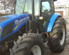 Tractor Marca New Holland TD5.110 Cab. Full con Pala Omartin
