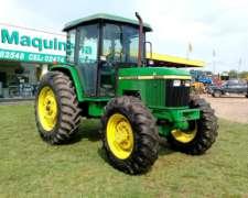 Tractor John Deere 6300 con 3400 Hs Reales. muy Buen Estado