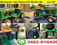 Minitractor Cortacésped John Deere STX 38,5 Spedd 12,5hp