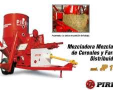 Mezclador de Cereales y Fardos Distribuidor JP 100 Pirro