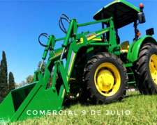 Nueva Pala Frontal con Acople Rápido para Tractor Tedeschi
