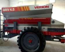 Fertilizadora de Banda Griv 4.5 Capacidad 4500 L Verion