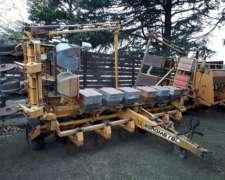 Agrometal TX 10 a 70, con Fertilizador. año 1990