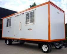 Oficina Movil Om600 Modulo Vacio Entrega Inmediata