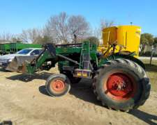 Tractor Deutz 55 con Pala
