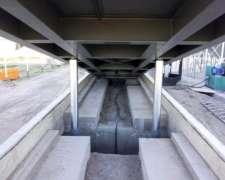 Plataforma Hidráulica para Descarga de Camiones