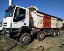 Camion Iveco 410 8X4 Volcador