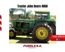 Tractor John Deere 4050 - Plan Cheque