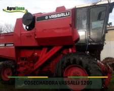 Cosechadora Vassalli 1200 con Plataforma 23 FT