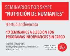 Seminarios ON Line Sobre Nutrición de Rumiantes