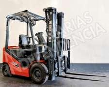 Autoelevador Heli 1800 Kg Nafta Nissan CPQD18 Desplazador