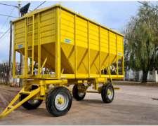 Acoplado Tolva Semillera/fertilizantes para 14/16 TN. 2 Ejes