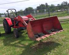 Tractor Con Pala Frontal Mf 4275