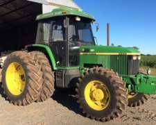Tractor John Deere 7500 - Tracción Doble - Rodado Dual