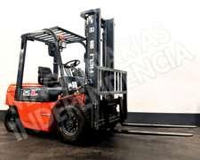 Autoelevador Heli 2500 Kg Diesel CPCD25 Desplazador 0km
