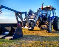 Tractor New Holland 7630,tracción Doble muy Buen ESTADO,2005