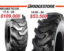 Neumáticos Bridgestone 17.5-25 y 14.00-24