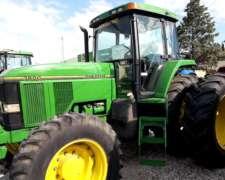 Tractor John Deere 7800 Gomas Nuevas, muy Buen Estado, 1995