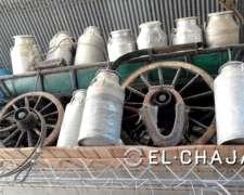Tarros Lecheros De Aluminio De 50 Litros-