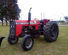 Tractor Massey Ferguson 1175 con Dirección, sin Cabina