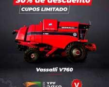 Cosechadora Vassalli 760 Flexifull