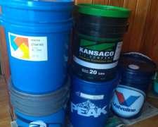Aceites Varios Tipos Valvoline-kansaco-etc