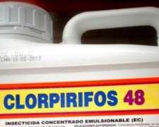 Clorpirifos Insecticida Para El Control De Insectos