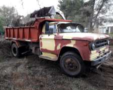 Camion Volcador Dodge 600