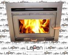 Calefactor Lepen A Leña Modelo Cassette N°5