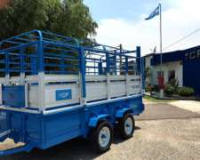 Acoplado Jaula Tcf Hacienda Multi Proposito 4000