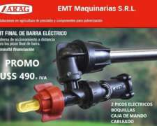 Kit Picos Eléctricos Final de Barra