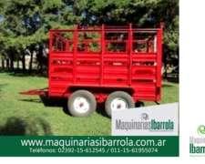 Acoplado Hacienda Tipo Jaula Balancin