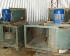Ventilador Centrifugo Vobe Alta Presion Y Caudal 5.5 Hp