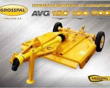 Desmalezadora De Arrastre Avg 120 150 200 - Grosspal
