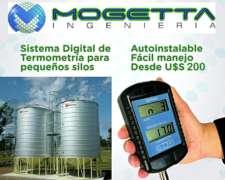 Termometría Digital para Pequeños Silos