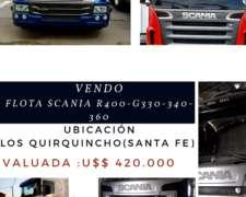 Vendo Flota de Scania ( R400 - G330-g340-g360)