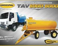 Tanque Atmosférico TAV 8000-6000 Grosspal