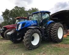 Tractor New Holland T7 240 Usado En Impecable Estado