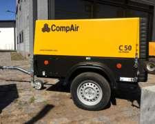 Compresor Portatil Gardner Denver 50c 7 Bar