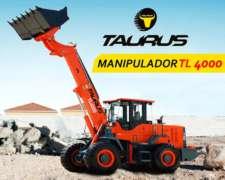 Manipulador Telescopico Pala Cargadora Taurus TL 4000