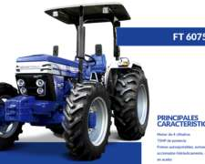 Tractor Farmtrac 4x2 75 Hp - Con Un Año De Service Gratis