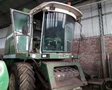 Cosechadora Bernardin M23 año 89 Motor 190hp + Girasoler