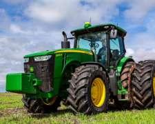 Tractor John Deere 8r 295 Entrega Asegurada