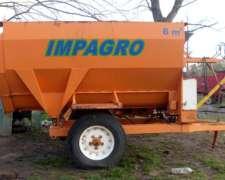 Mixer Marca Impagro De 6 M3
